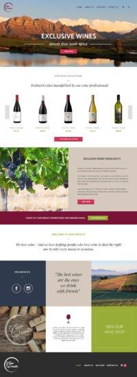 Cape Town Web design example
