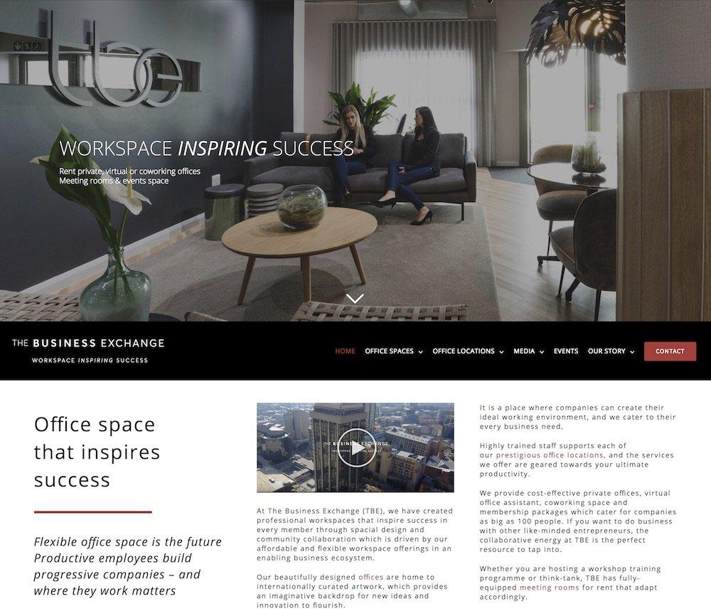 the business exchange website