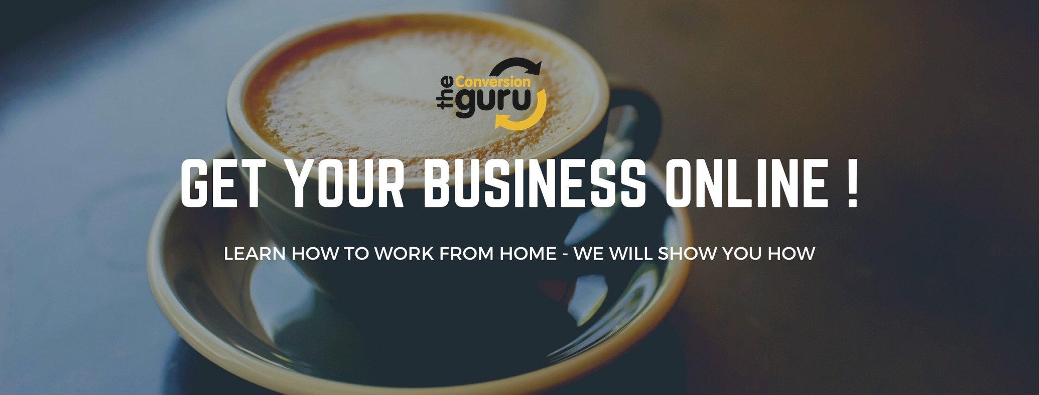 work from home - start your own online business.